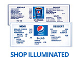 Shop Pepsi Illuminated Menu Boards