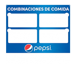 Pepsi Spanish Products