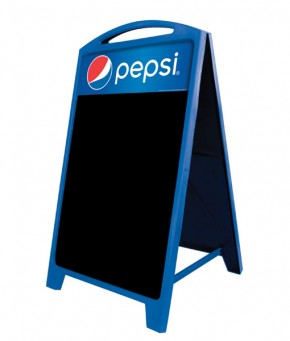 PAF-CHALK Pepsi A-Frame Sign