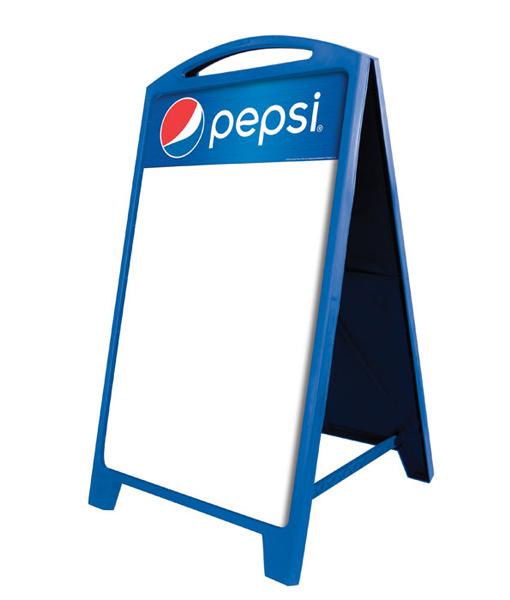 PAF-DRYERASE Pepsi A-Frame Sign