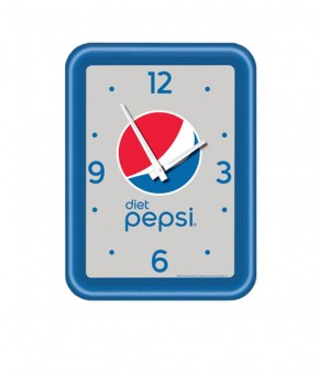 DP1144GLOBE – Diet Pepsi Globe Modern Clock (Carton of 5)