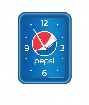 PC1144GLOBE – Pepsi Globe Modern Clock (Carton of 5)