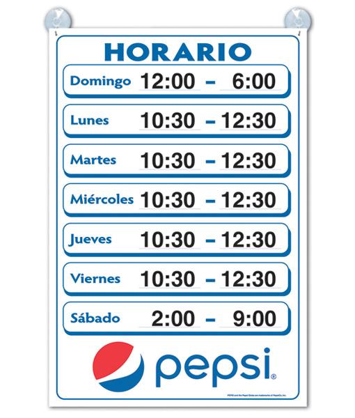 PC8504 – Horario