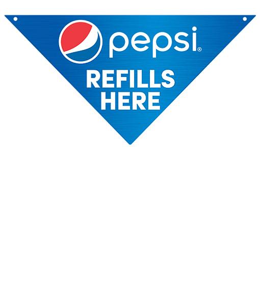 PCREFILLS Pepsi Directional Sign – Refills