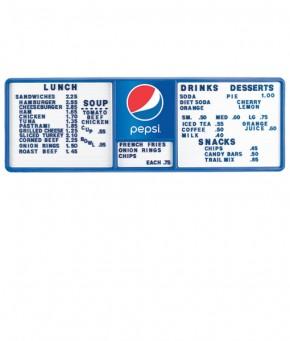 PV1435GLOBE – Pepsi Track Menu Board
