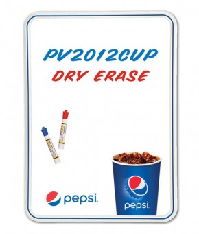 PV2012CUP – Pepsi Cup Arc Dry Erase