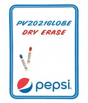 PV2021GLOBE – Pepsi Globe Arc Dry Erase