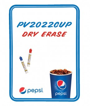 PV2022CUP – Pepsi Cup Arc Dry Erase