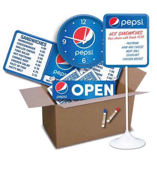 SKB-PS – Pepsi Store Kit – BASIC