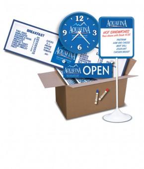 SKD-AQ – Aquafina Store Kit – DELUXE