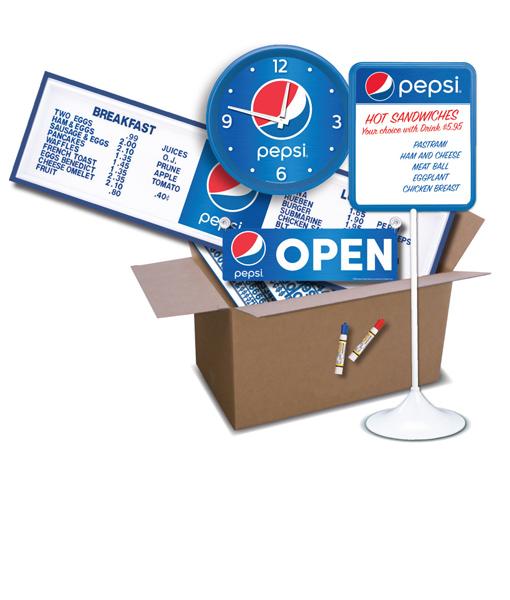 SKD-PS – Pepsi Store Kit – DELUXE