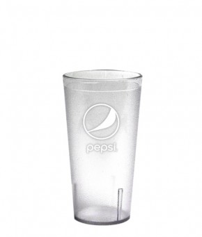 12oz Pepsi Tumbler Clear Globe