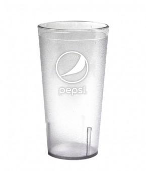 24oz Pepsi Tumbler Clear Globe