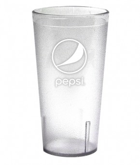 32oz Pepsi Tumbler Clear Globe