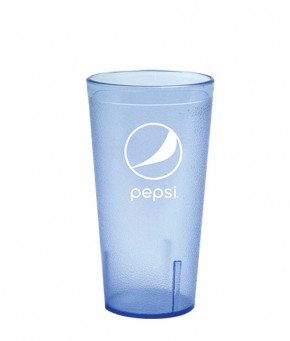 16oz Pepsi Tumbler Ice Blue Globe