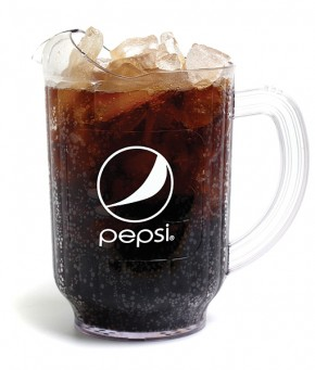60oz Pepsi Pitcher Globe