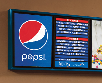 Classic Indoor Menu Boards