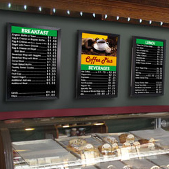 Gallery Indoor Menu Boards