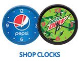 Shop Pepsi Clocks