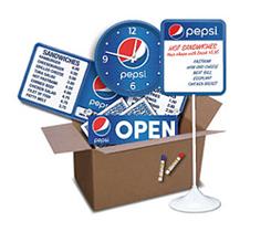 Pepsi Store Kits