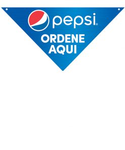 PCORDERS Spanish Pepsi Directional Sign – Order Here