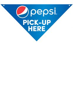 PCPICKUP Pepsi Directional Sign – Pick Up