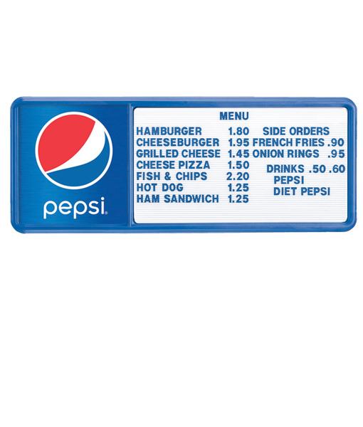 PI1490GLOBE – Pepsi Track Menu Board