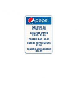 PV1385 – Pepsi Track Menu Board