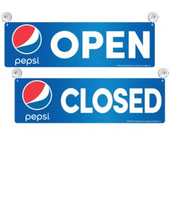 PV8000GLOBE Pepsi Globe Open/Closed