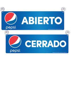 PV8500GLOBE – Pepsi Globe Abierto/Cerrado (Spanish Open/Closed)
