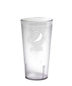 16oz Pepsi Tumbler Clear Globe