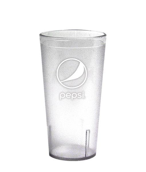 20oz Pepsi Tumbler Clear Globe