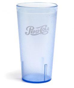 32oz Pepsi Tumbler Ice Blue Script