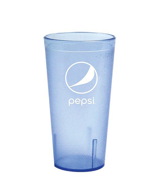 20oz Pepsi Tumbler Ice Blue Globe