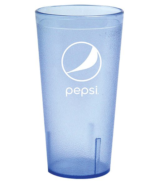 32oz Pepsi Tumbler Ice Blue Globe
