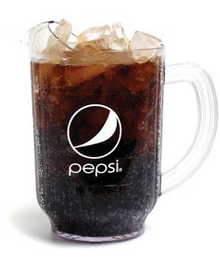 60oz Pepsi Pitcher Globe