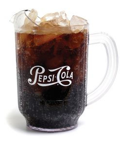 60oz Pepsi Pitcher Script