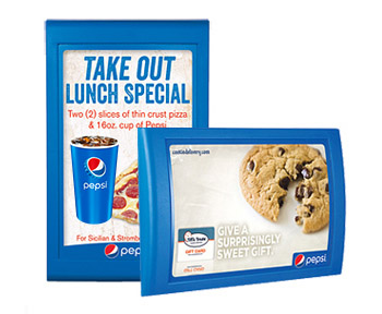 Pepsi Easy Menu Boards